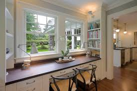Desk In Kitchen Ideas by Small Home Renovations Kitchen Design
