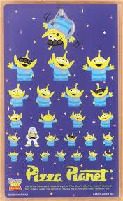 toy story alien buzz bookmark stickers 7pcs japan sticky