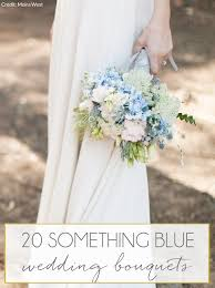 Blue Wedding Bouquets 20 Something Blue Wedding Bouquets Southbound Bride