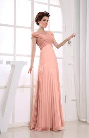 bridesmaid dress vintage empire sleeve zipper chiffon floor length