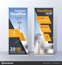free printable vertical banner template vertical roll up banner template design stock vector raftel