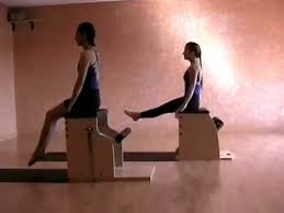 Pilates Chair Exercises Moving Breath Pilates Chair Workout Dvd Sample Youtube