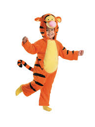 Kids Tiger Halloween Costume Toddler Tigger Costume Kids Costumes