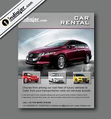 rent a car flyer template v 2 indiater