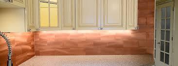 Copper Quartzite Subway Backsplash Tile Aminaminxyz - Copper tile backsplash