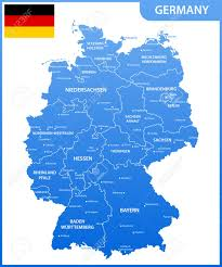 map of regions of germany the detailed map of the germany with regions or states and cities