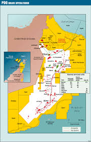 Map Of Oman Real Time Automation Optimizes Production Economics In Oman Oil
