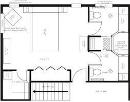 Master Bedroom Design Plans - Bedroom layout designer