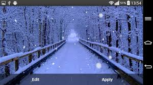 free live thanksgiving wallpapers winter forest live wallpaper android apps on google play