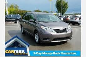 used toyota sienna for sale special offers edmunds