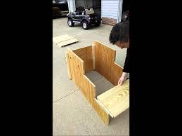 Garage For Rv Quick Set Up Rv Camper Steps Youtube