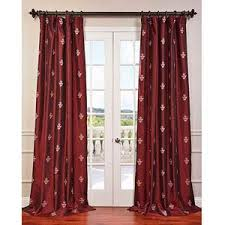 White Taffeta Curtains Embroidered Curtains Shop For Embroidered Curtains On Polyvore