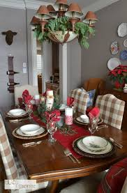 the festive and rustic dining room from lilacs