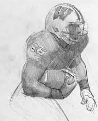 college row sketching the heisman trophy amherst college