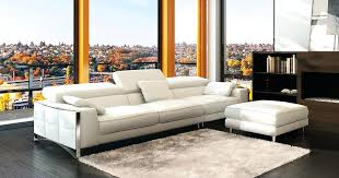 Modern White Bonded Leather Sectional Sofa Modern White Leather Sofa Forsalefla