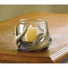rustic antler candle holder wholesale at koehler home decor