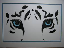 black and white painting ideas black and white tiger easy drawings 1000 ideas about tiger drawing