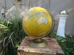 Imperial Home Decor Cram U0027s Imperial 12 Inch World Globe Vintage Globe Imperial