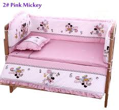 Crib Bedding Set Minnie Mouse by 100 60cm Baby Bedding Sets Include Pillow Bumpers Mattress