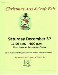 christmas craft fair sat dec 3rd 11am 4pm u2013 friends of cedar bay