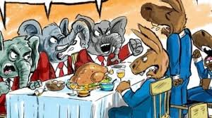 thanksgiving political tagged