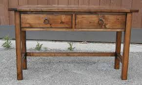 Distressed Table Sofa Sideboard U0026 Console Tables U2014 Sun Valley Wood Works