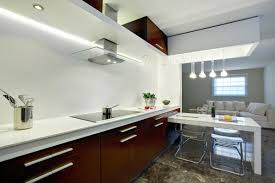 Modern White And Brown Kitchen Cabinets Kitchen Room Pull Out Bed Bath Vanities Corner Toilet