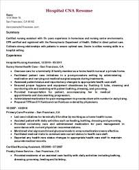resume summary of qualifications for a cna sle of a cna resume fresh resume sles cna resumes stunning