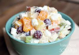 Jello Salad With Cottage Cheese And Mandarin Oranges by Creamy Fruit Salad Tastes Better From Scratch
