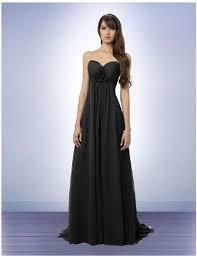 bill levkoff bridesmaid dresses bill levkoff black chiffon style formal bridesmaid mob dress size