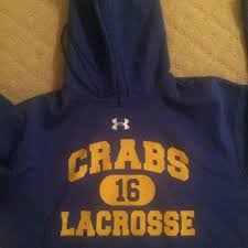 under armour fairly new crabs limited edition sweatshirt taking