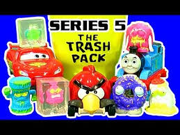 trash pack series 5 lightning mcqueen angry birds thomas