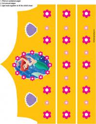 crown mermaid mermaid party hats free printable