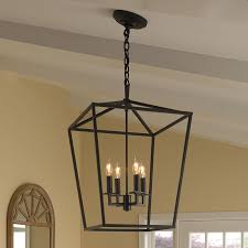 Foyer Pendant Light Fixtures Norwell Lighting Cage 4 Light Foyer Pendant Reviews Wayfair