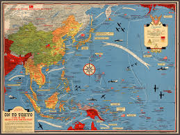 Southeast Asia Map by 1944 Wwii Map Of The Pacific U0026 Southeast Asia Battlemaps Us