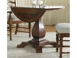 Drop Leaf Pedestal Table Furniture Dining Room Waverly Place Drop Leaf