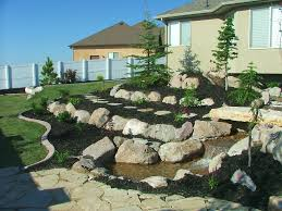 backyard landscaping with gravel landscaping with gravel and
