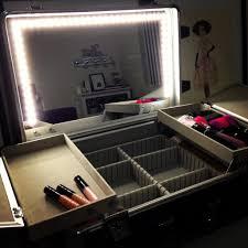 ottlite natural lighted makeup mirror white vanity lighted light