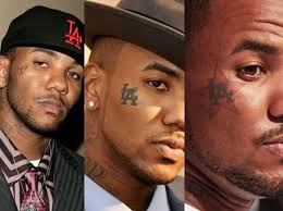 the game tattoos celebrities with tattoos
