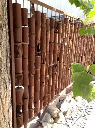 Restaurant Fencing by Outdoor Inspirational Bamboo Fencing Looks Ideas By Arrangement