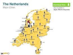 netherlands map cities netherlands map