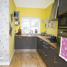 yellow and grey kitchen ideas yellow and grey kitchen kitchen decorating style at home