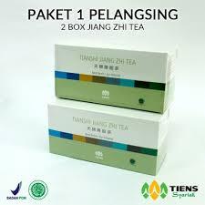 Teh Jiang paket pelangsing deherbal id jiang zhi tea terbuat dari teh hijau