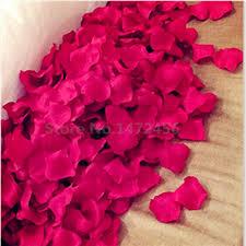silk petals scrapbooking decoracion boda 1000 pcs wedding decoration color