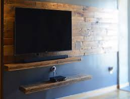 Tv Floating Shelves by Hand Made Rustic Floating Shelves By Abodeacious Custommade Com
