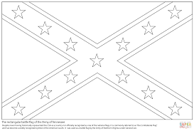 confederate flag coloring free printable coloring pages