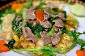 chien cuisine fried noodles pho chien phong travel magazine