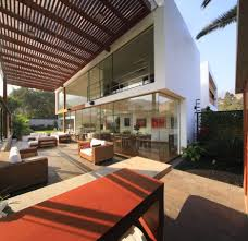 Cool Outdoor Furniture by Lovely Terrace With Nice Awning Wide Patio Contemporary Design
