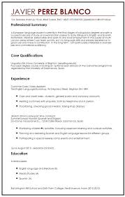 college student resume sles for summer jobs sle student cv sle for international students myperfect