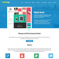 15 best landing page wordpress themes 2016